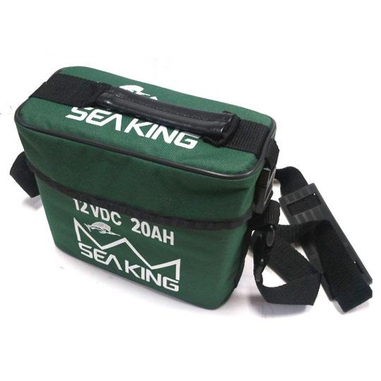 シーキング ミニバッテリー 専用充電器付き 12VDC 20AH