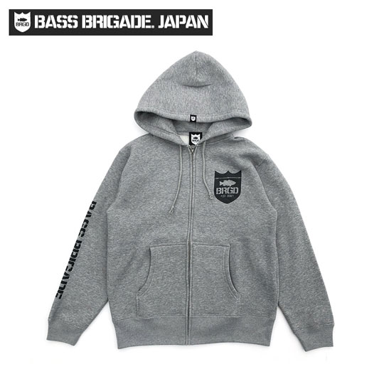 バスブリゲード BRGDクラシックロゴジップフーディ BASS BRIGADE 【CLZD101】