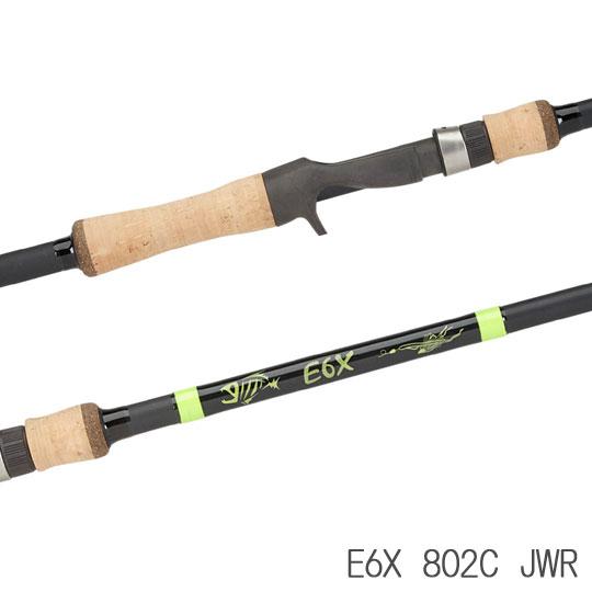 ジールーミス E6X 802C JWR G-Loomis [ジグ・ワーム用]【送料込価格】