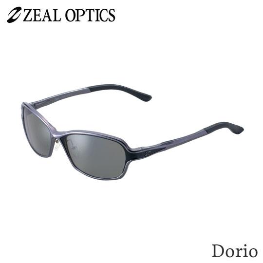 zeal optics(ジールオプティクス) 偏光グラス ドリオ F-1663 #トゥルビューフォーカス シルバーミラー ZEAL DORIO