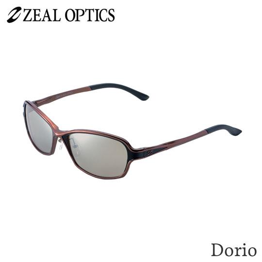 zeal optics(ジールオプティクス) 偏光グラス ドリオ F-1664 #トゥルビュースポーツ シルバーミラー ZEAL DORIO