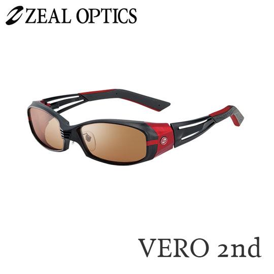 zeal optics(ジールオプティクス) 偏光グラス ヴェロセカンド F-1313 #ラスターオレンジ シルバーミラー ZEAL VERO 2nd