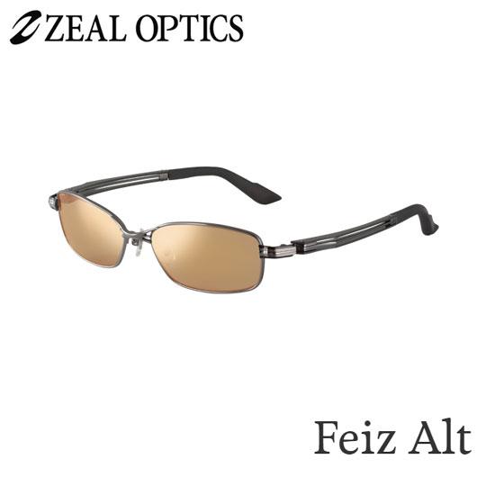 zeal optics(ジールオプティクス) 偏光グラス フェイズオルタ F-1355 #ラスターオレンジ/シルバーミラー ZEAL Feiz Alt