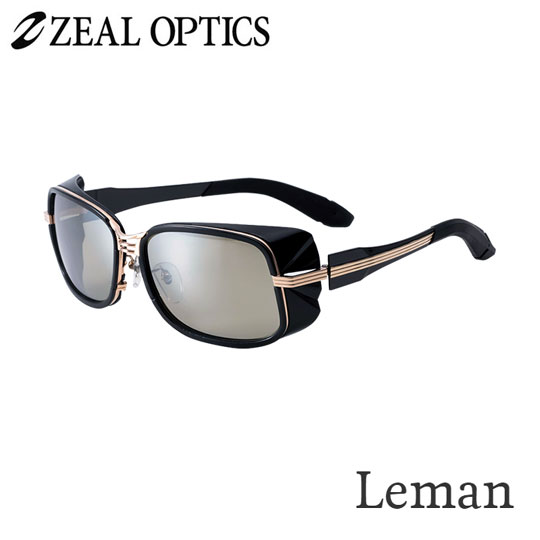 zeal optics(ジールオプティクス) 偏光グラス レマン F-1522 #イーズグリーン ブルーミラー ZEAL Leman