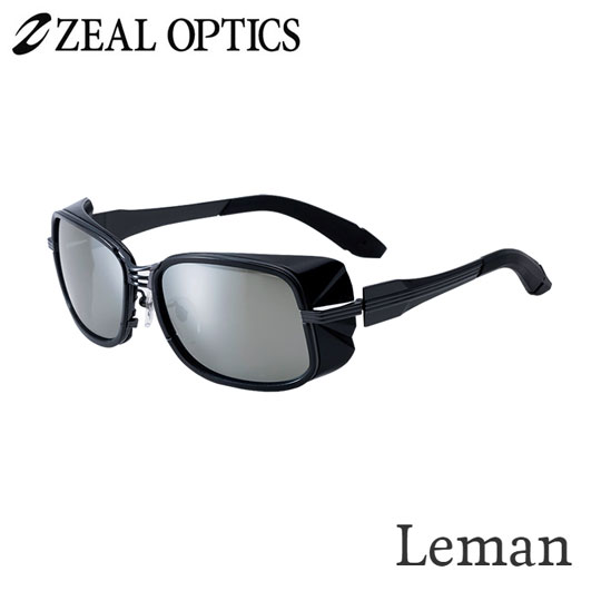 zeal optics(ジールオプティクス) 偏光グラス レマン F-1523 #トゥルビューフォーカス シルバーミラー ZEAL Leman