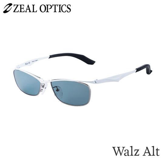 zeal optics(ジールオプティクス) 偏光グラス ワルツオルタ F-1601 #マスターブルー ZEAL WALZ ALT