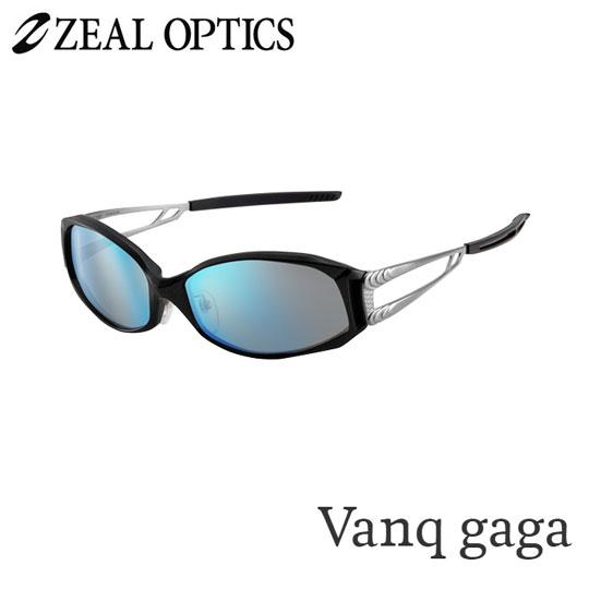 zeal optics(ジールオプティクス) 偏光グラス ヴァンクガガ F-1074 #トゥルビュースポーツ ブルーミラー ZEAL Vanq gaga