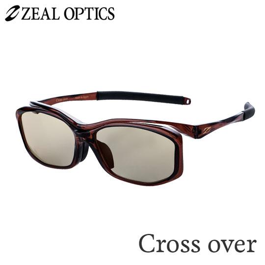 zeal optics(ジールオプティクス) 偏光グラス クロスオーバー F-1627 #ライトスポーツ ZEAL CROSS OVER