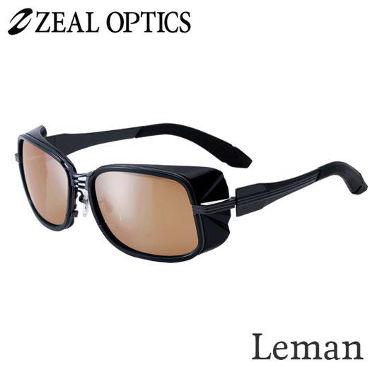 zeal optics(ジールオプティクス) 偏光グラス レマン F-1525 #ラスターオレンジ シルバーミラー ZEAL Leman
