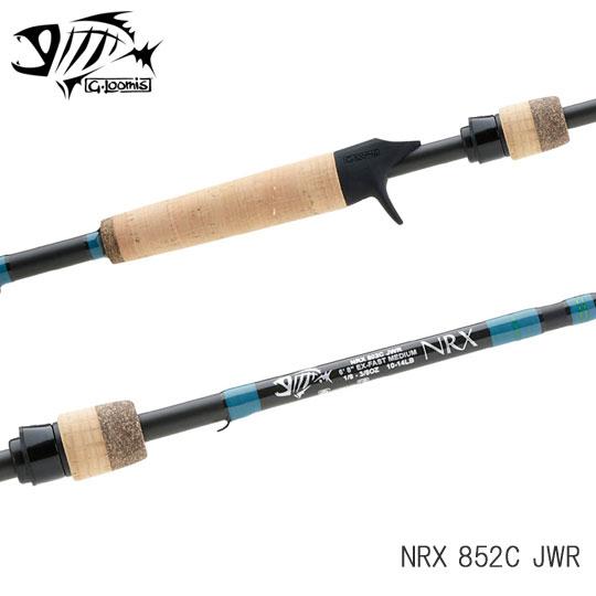 Gルーミス NRX 852C JWR G-Loomis [ジグ・ワーム用]