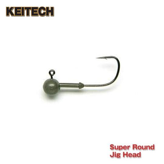 送料込 ケイテック 開催中 タングステン スーパーラウンドジグヘッド #4-#1 KEITECH HEAD ROUND JIG TUNGSTEN SUPER
