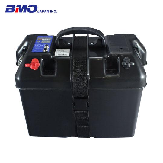 BMO JAPAN (ビーエムオージャパン) バッテリーボックス インジケーター付 USB対応 60Aブレーカー付 (C11517-1)