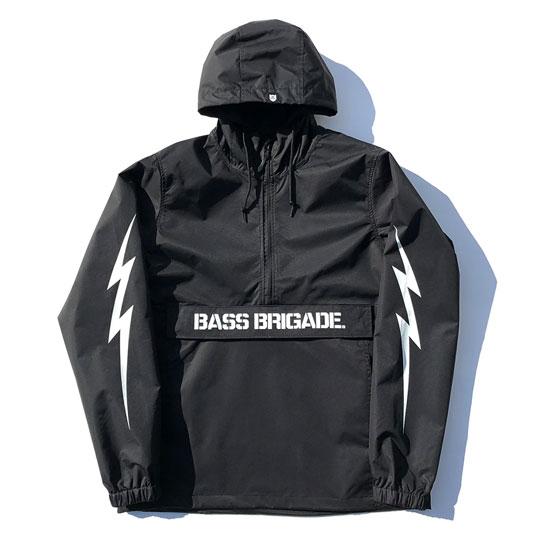 バスブリゲード BRGD ボルトアノラックジャケット BassBrigade BOLT ANORAK JACKET 【BBANJ01】