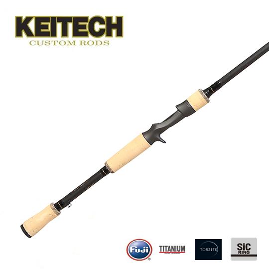 【予約受付中】 ケイテック カスタムロッド KTC765-SPG (M) スパイラルガイド KEITECH