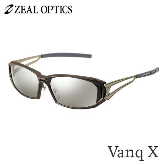 zeal optics(ジールオプティクス) 偏光グラス ヴァンク エックス F-1764 #トゥルービュースポーツシルバーミラー ZEAL Vanq X