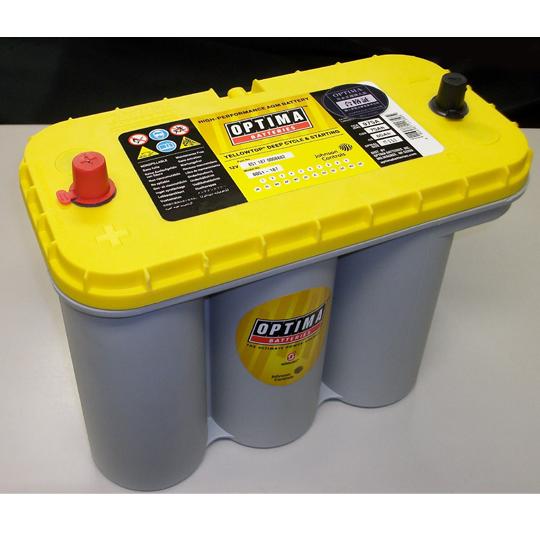 【エコサイクル】オプティマ イエロートップシリーズ バッテリー D1400S  YTS-5.5L【送料込価格】