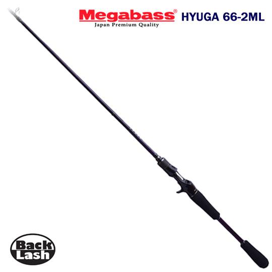 メガバス ヒューガ 66-2ML 2015年モデル Megabass HYUGA-66-2ML 2ピースモデル