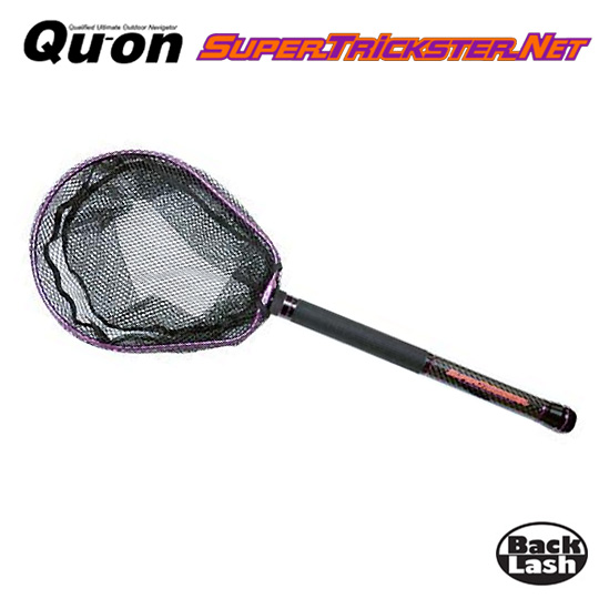 久遠 スーパートリックスター パーフェクトランディングネット 380 STN-380 Qu-on SUPER TRICKSTER NET