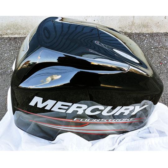 【中古品/USED】マーキュリー トップカウルコンプリート 60馬力EFIモデル対応 MERCURY