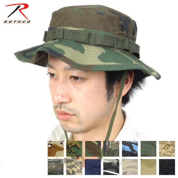 b8210d9c692 Rothko ROTHCO Boonie Hat BOONIE HATS military military Hat Hat jungle  Safari hat with camouflage military military men