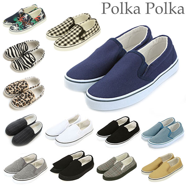 ZERO  Shoes white white sneakers Polka Polka which ON SLIP slip-on having  good lady s slip-ons 0689a632004700 slip-ons constant seller shoes shoes ... b6f093b82b44
