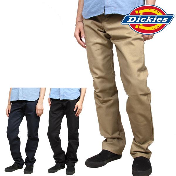 Dickies WP808 Men/'s Desert Sand Slim Straight 5-Pocket Twill Work Pant