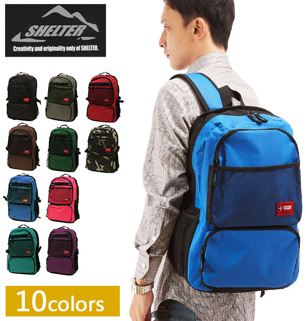 b0e3fa5f79c0 Ringtone review with coupon! SHELTER shelter Backpack Rucksack daypack  daypack-japonais cum husband shopping and genuine bargain sale-go ruck backpack  bag ...
