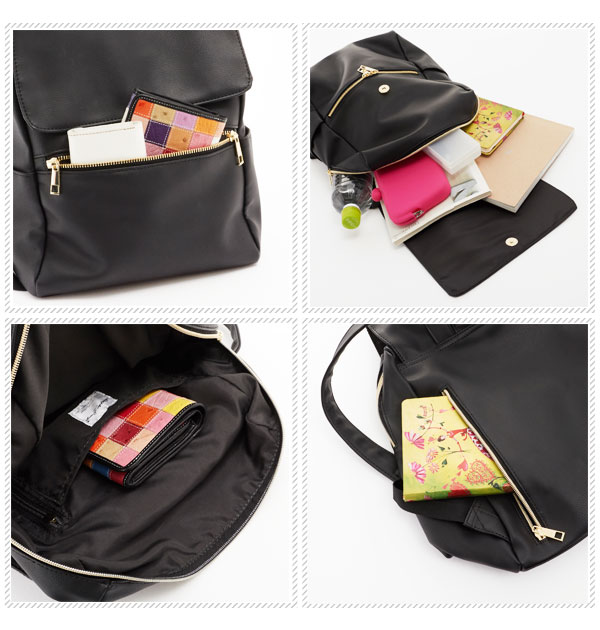 The adult back bag mom rucksack flap rucksack backpack fashion that  rucksack legato largo Legato Largo mail order Lady's macroscale size grain