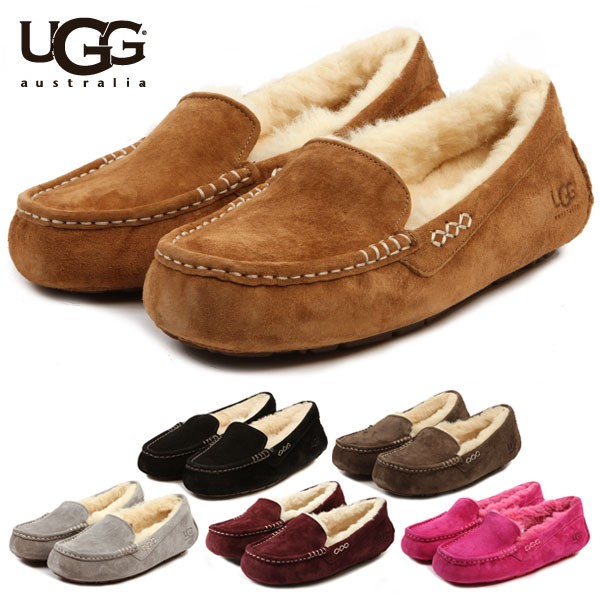 4912583194cb BACKYARD  ugg moccasins UGG アンスレー 3312 slip-ons constant seller mouton  Ansley regular article アグモカシン