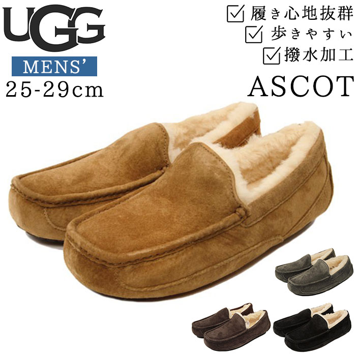 b44c1ba1fd6 Size and color Exchange absolutely free! UGG men's moccasin Ascot ASCOT UGG  loafers deck shoes ...
