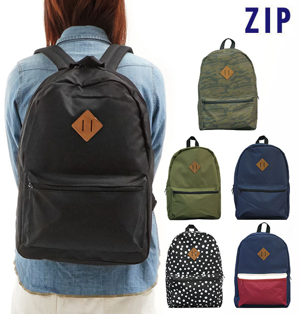 d10bae11ee51 ... The fashion day pack that rucksack zip ZIP mail order Lady s men  macroscale size grain rucksack high school student junior high student  Mothers bag ...