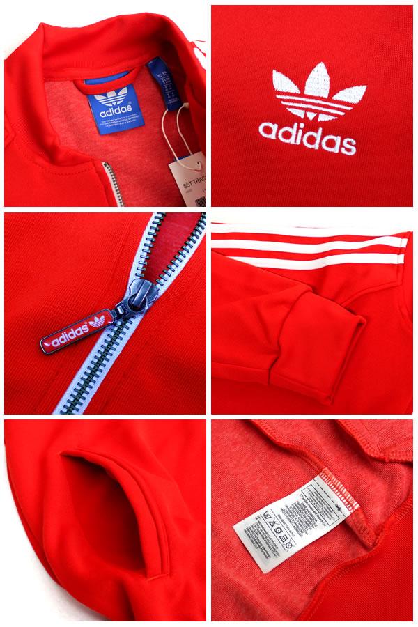 Adidas Chaqueta De Chándal Originales Súper Estrella - Rojo De Los Hombres NEl5gDkdbJ