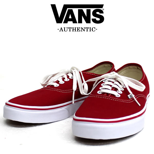 6092434c0221 badass  VANS sneakers AUTHENTIC authentic red VN-0EE3 red low-cut ...