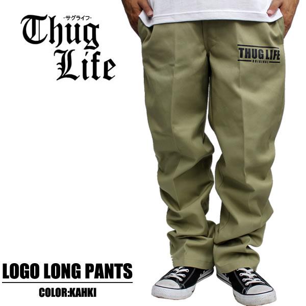HIPHOP outshoot men fashion chino pants work pants custom Chino logo one  point Dickies 874 sloppy straight of THUGLIFE サグライフロングパンツ THUG ANGULAR  SHAPE