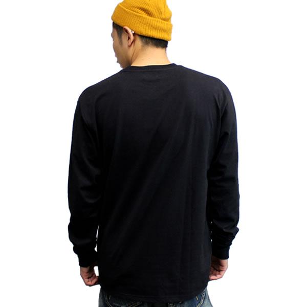 THUGLIFE /사그라이후 긴소매 T셔츠 THUGFAMILY /블랙 B계 HIPHOP 아웃로우 맨즈 패션 T셔츠 갓 파더 로고 thuglife 크루넥크로티 blk black 화이트 라운드넥 롱 길이