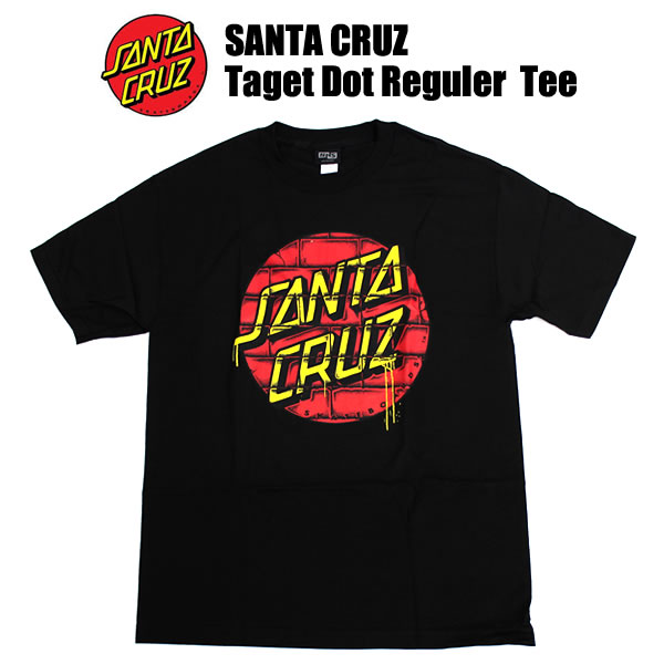 8abf5577f19b SANTACRUZ and Santa Cruz T shirts Taget Dot Reguler Tee   Black men s  fashion tops inner small shirt jacket mens crew neck spring summer 夏mono  秋mono ...