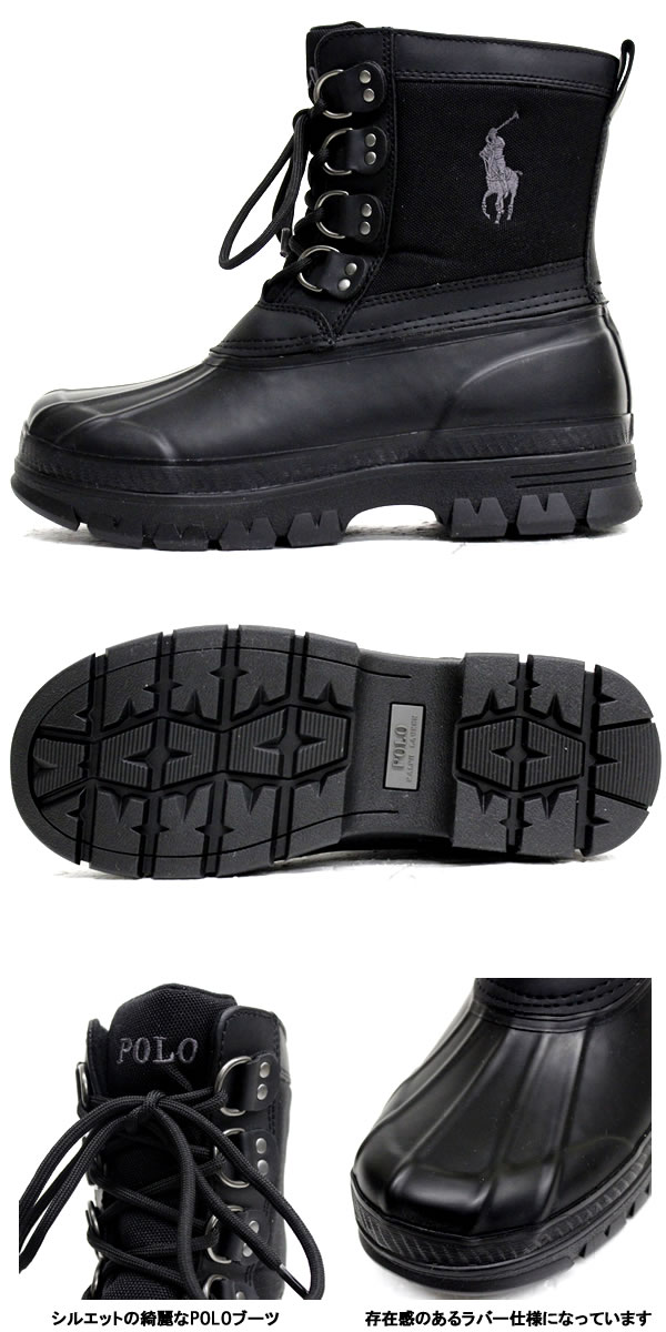 ad12ac30e3 POLO RALPH LAUREN Polo Ralph Lauren boots snow boots waterproof shoes  sneaker shoes boots men's 812515642004 women's fashion winter fall sports  skater