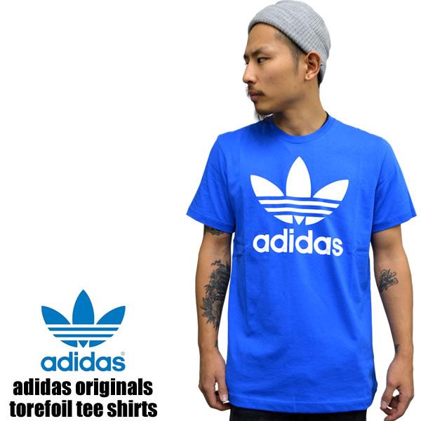 badass  Adidas originals short sleeve T shirt TREFOIL TEE trefoil T ... b7eca7e33528