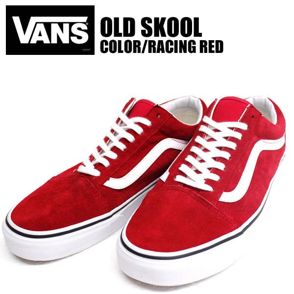 badass  Sold out! VANS sneakers OldSkool LLT suede Red Red RACING ... e3b365445e
