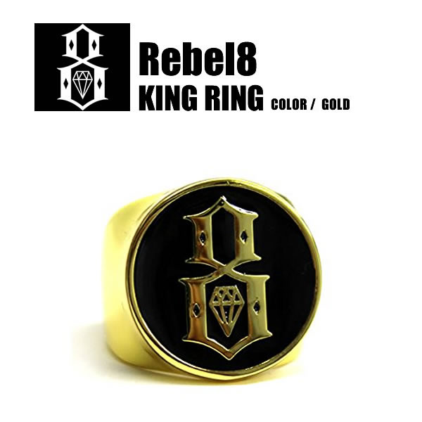 REBEL8 ring ring famous Gold accessories both of our unisex men's women's fashion goods liberate street system tattoo