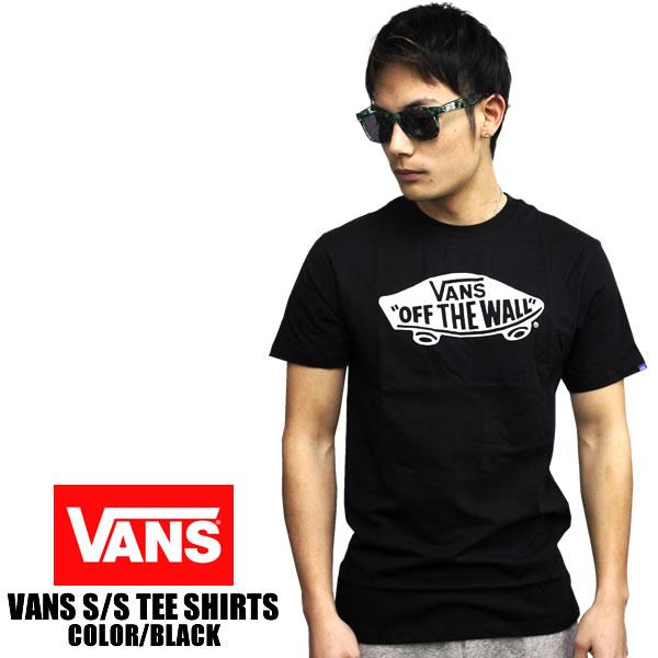651b1569b8 badass  VANS short sleeve T shirt OTW LOGO off the wall black ...