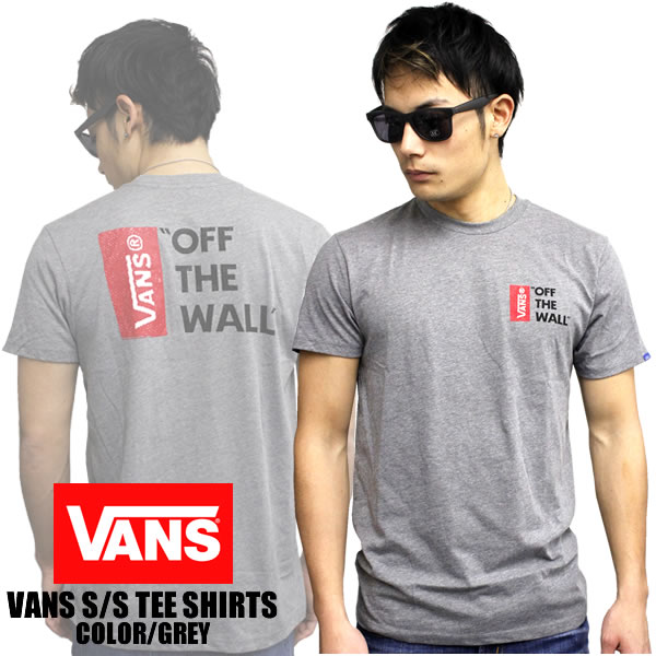 fa3facad712380 badass  VANS short sleeve T shirt OFF THE WALL LOGO TEE off-the-wall ...