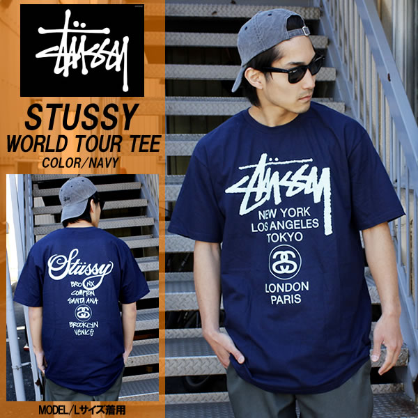 5fcb02366 Introduce / product description. Stussy STUSSY WORLD TOUR TEE short sleeve  T shirt