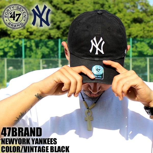 350f53101d88fc badass: Sold 47 BRAND Cap Yankees YANKEES New York black vintage ...