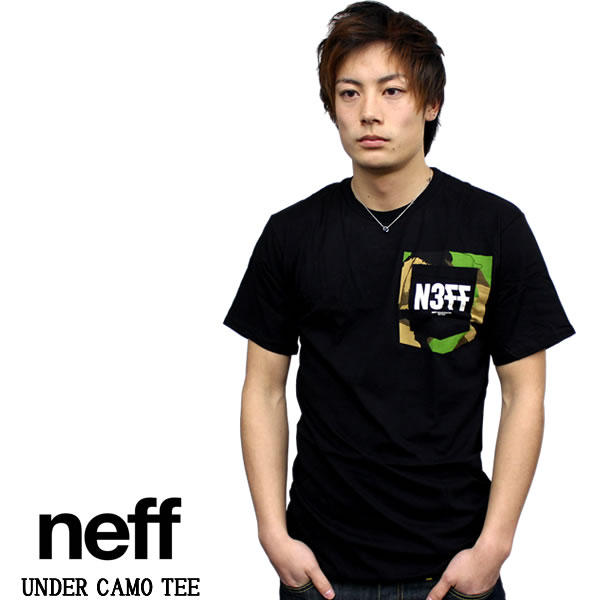 2d1803e8596fd badass  Neff Neff short sleeve t shirt UNDER CAMO TEE black Camo ...