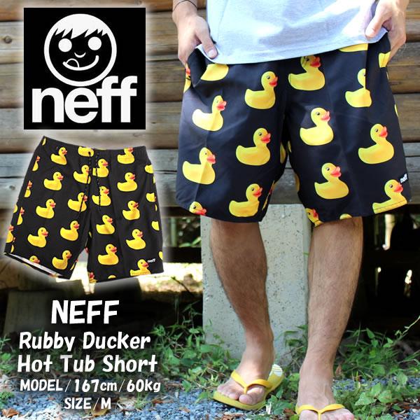 ffb63b0b4d Neff Neff swim pants swimwear duck RUBBER DUCKY HOT TUB SHORT MULTI  16P56012 Beach shorts swimwear ...