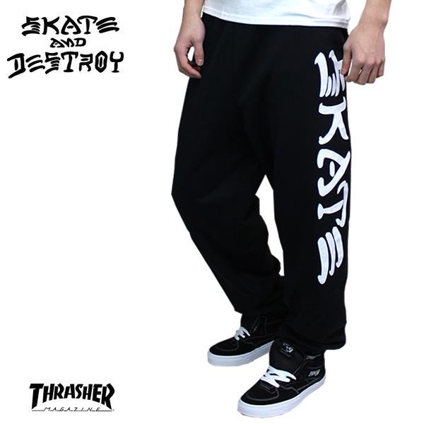 29f50d44272b ... ♢ product description. THRASHER-Thrasher Sweat pants-SKATE  amp  destroy  ...
