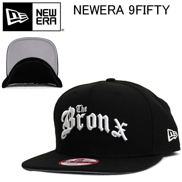 6940098c591 NEWERA new era Cap Hat The Bronx the Bronx black x white snap back Cap  fashion school of dance costumes and street B