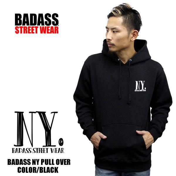 24fce6db991e badass  Parkermensparker BADASS NY logo pullover Parker sweatshirts ...