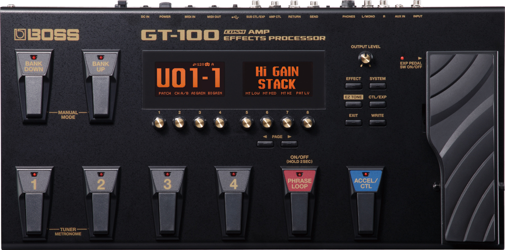 BOSS Guitar Effects Processor GT-100 Ver.2 ボス ギター用マルチエフェクター 【送料無料】【smtb-ms】【zn】